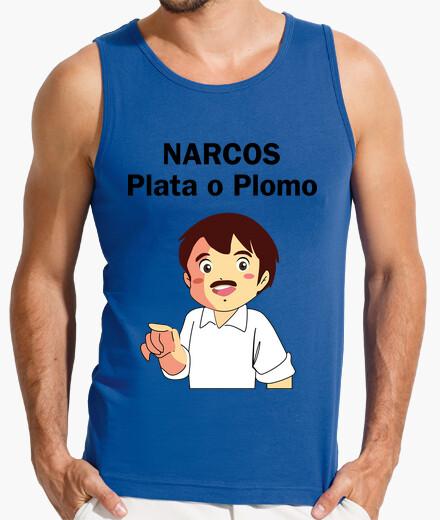 Camiseta Narcos/Marcos Hombre