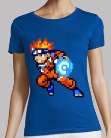 Naruto 16bit (Camiseta Mujer)