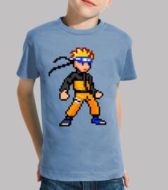 Naruto 16bit (Camiseta Niño)