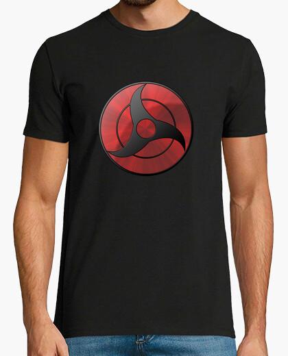 Camiseta Naruto Itachi Mangekyo Sharingan - mc chico