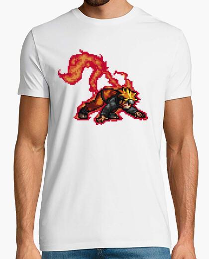 Camiseta Naruto Kyubi Uzumaki