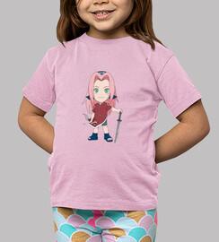 Naruto Little Sakura - Niña