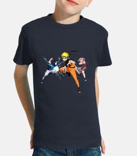 Naruto, Sasuke y Sakura - Niño