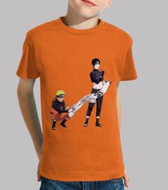 Naruto y Sai - Niño