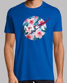 NASA emblème rose tropical cru