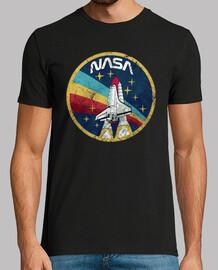 NASA Logo, manga corta, negra, calidad extra