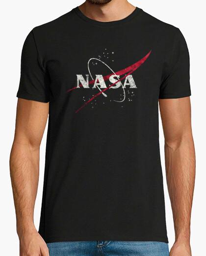 T-shirt nasa meth emblema