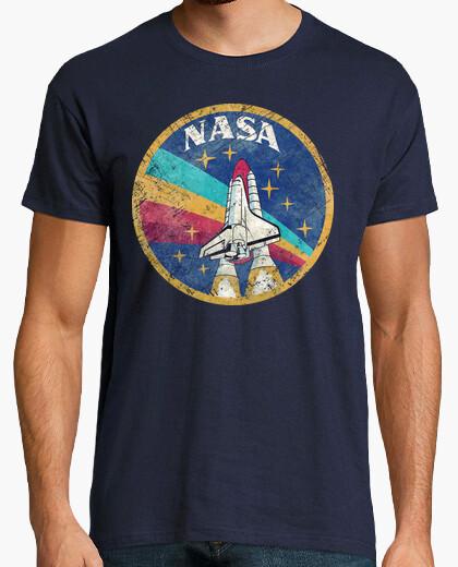 Camiseta Nasa Vintage Colors V02