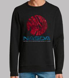 NASDA Space Agency Emblem Vintage