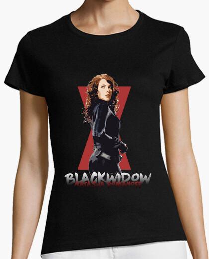 Camiseta Natasha Vengadores ViudaNegra