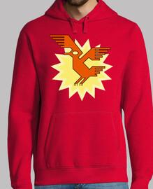 natif américain sud motif d'oiseau condor