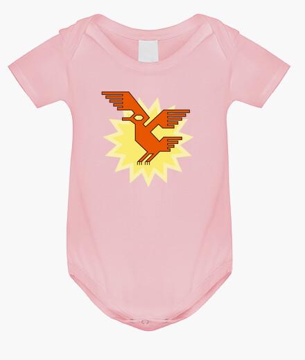 Vêtements enfant natif américain sud motif d'oiseau condor