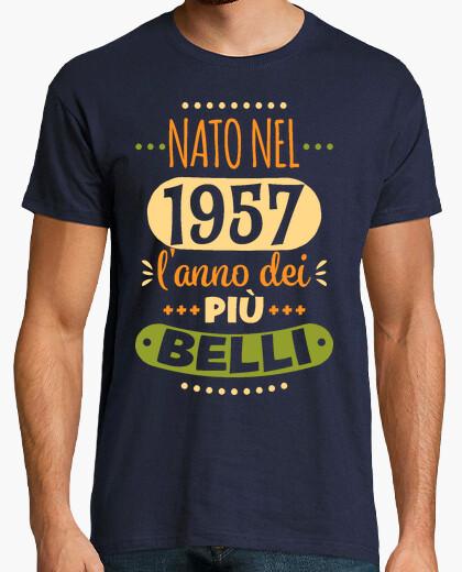 T-shirt Nato nel 1957 l'anno dei più belli