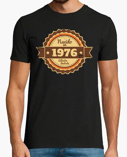 T-shirt nato nel 1976, edizione limitata, 43 anni