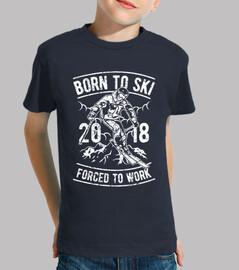 nato per sciare