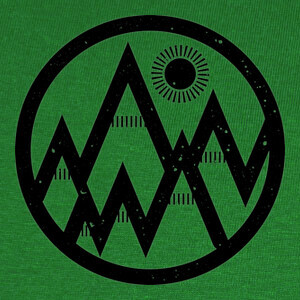 naturaleza geométrica T-shirts