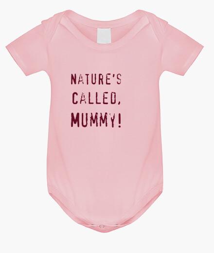 Ropa infantil naturalezas comedia llamada, calidad premium momia, crecer rosa bebé