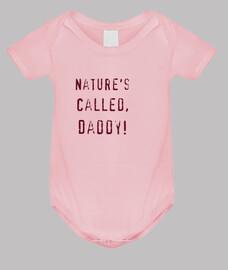 naturalezas comedia llamada, calidad premium papá, crecer rosa bebé