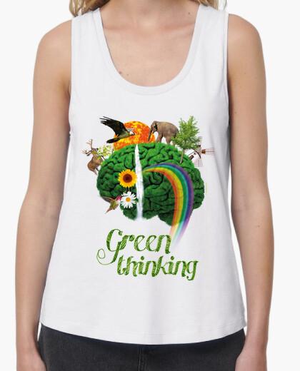 Tee-shirt nature - conscience verte - pensée verte