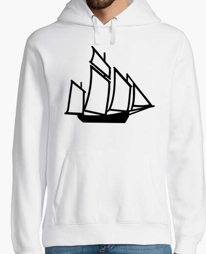 Felpa nave barca a vela