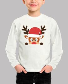 Navidad camiseta manga larga niño