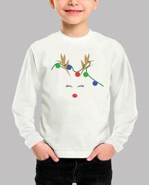 NAVIDAD Camiseta manga larga niño y niña