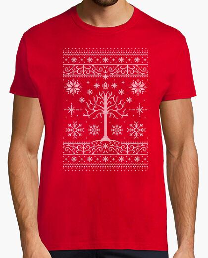 Navidad de minas / suéter feo camiseta / lotr / para hombre