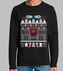 navidad despierta / guerras de las estrellas / suéter