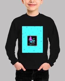 Navidad en CGA - camiseta de manga larga para niño o niña