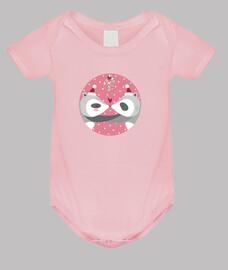 navidad mapaches ... difundir su amor! el cuerpo del bebé