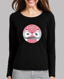 navidad mapaches ... difundir su amor! mujer de manga larga camiseta