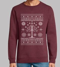 navidad minas / suéter feo / lotr / suéter