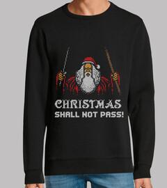 navidad no pasará / gandalf / feo / suéter