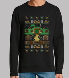 navidad shire / hobbits / feo / suéter