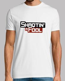 NBA. Shaqtin a Fool. Hombre, manga corta, blanco, calidad extra