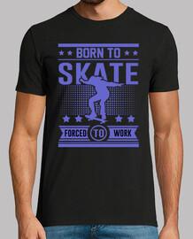 né à patiner