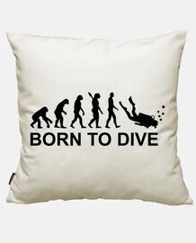 né à plonger l'évolution de la plongée sous-marine