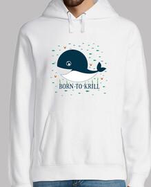 né au krill