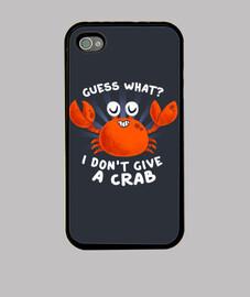 ne donne pas un crabe case