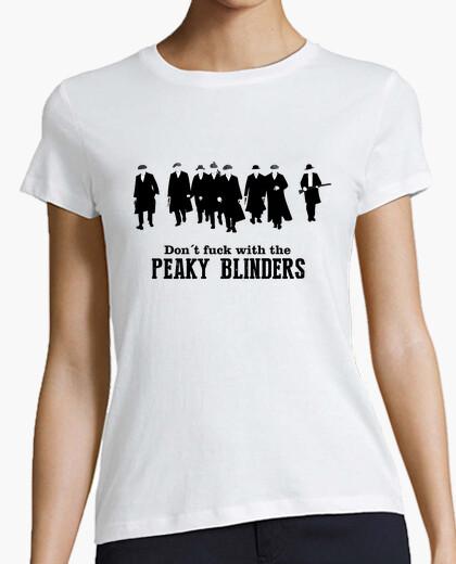 Tee-shirt ne fuck avec les oeillères peaky