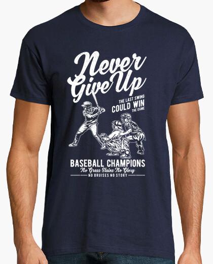 Tee-shirt ne jamais abandonner