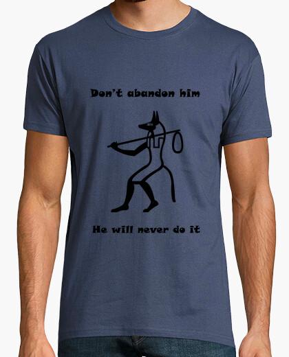 Tee-shirt ne l'abandonne pas (anglais)