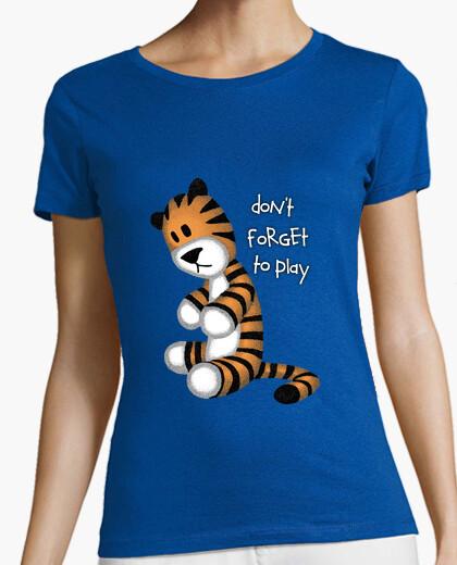 Tee-shirt ne pas oublier de jouer m
