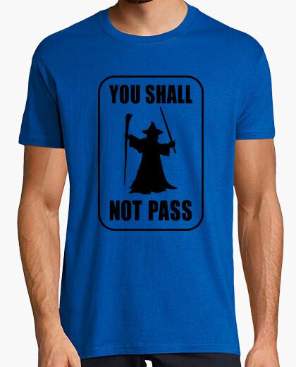 Tee-shirt ne pas passer!