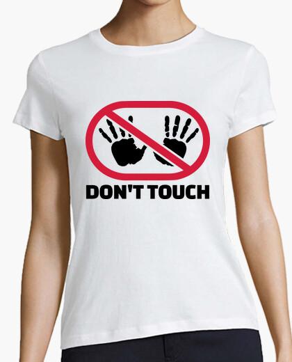 Tee-shirt ne pas toucher les mains