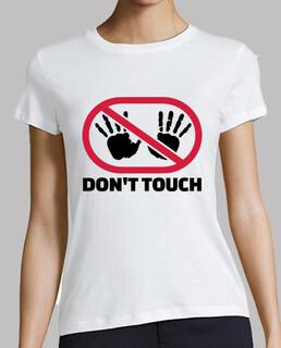 ne pas toucher les mains