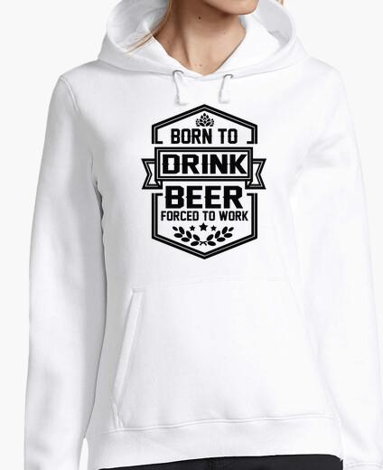 Sweat né pour boire de la bière