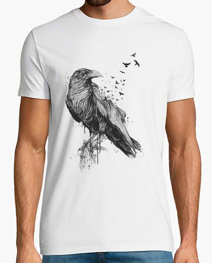 Tee-shirt né pour être libre (pc)