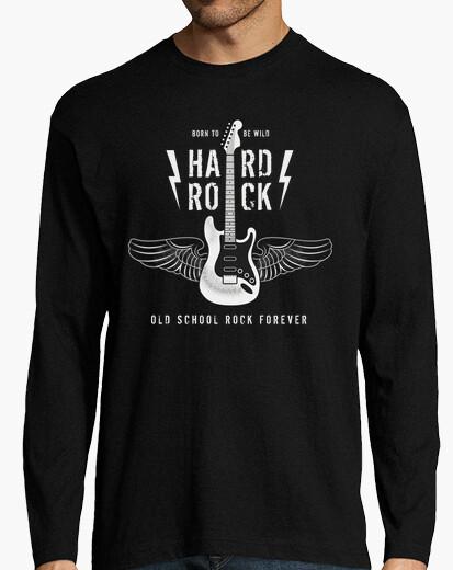 Tee-shirt né pour être sauvage - hard rock