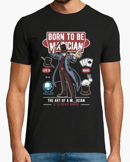 Tee-shirt né pour être un magicien